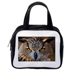 Great Horned Owl 1 Classic Handbags (One Side)
