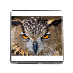 Great Horned Owl 1 Memory Card Reader (Square)