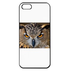 Great Horned Owl 1 Apple iPhone 5 Seamless Case (Black)