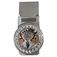 Great Horned Owl 1 Money Clips (CZ)