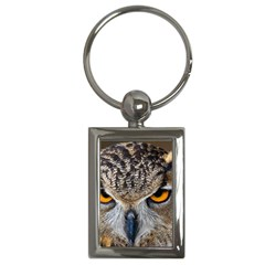 Great Horned Owl 1 Key Chains (Rectangle)