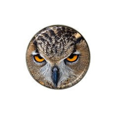 Great Horned Owl 1 Hat Clip Ball Marker