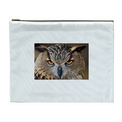 Great Horned Owl 1 Cosmetic Bag (XL)