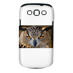 Great Horned Owl 1 Samsung Galaxy S III Classic Hardshell Case (PC+Silicone)