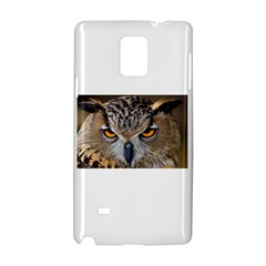 Great Horned Owl 1 Samsung Galaxy Note 4 Hardshell Case