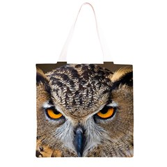 Great Horned Owl 1 Grocery Light Tote Bag