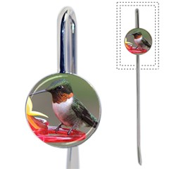 SKU Male Ruby Throated Hummingbird Book Mark