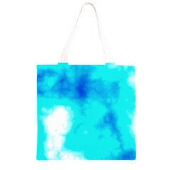 Turquoise Sky  Grocery Light Tote Bag
