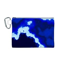 Blues Canvas Cosmetic Bag (M)