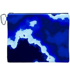 Blues Canvas Cosmetic Bag (XXXL)