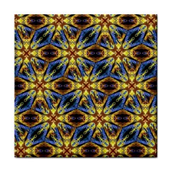 Vibrant Medieval Check Tile Coasters