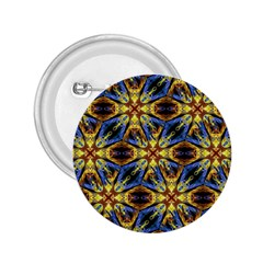 Vibrant Medieval Check 2.25  Buttons