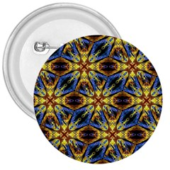 Vibrant Medieval Check 3  Buttons