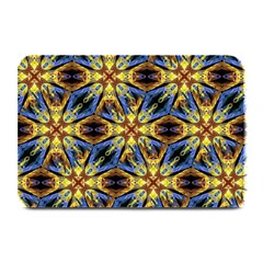 Vibrant Medieval Check Plate Mats