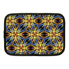 Vibrant Medieval Check Netbook Case (Medium)