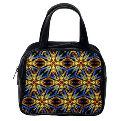 Vibrant Medieval Check Classic Handbags (One Side)