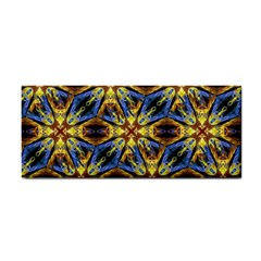 Vibrant Medieval Check Hand Towel