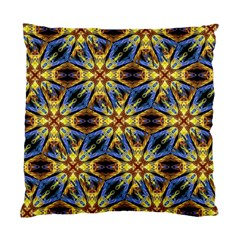 Vibrant Medieval Check Standard Cushion Case (One Side)