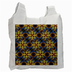 Vibrant Medieval Check Recycle Bag (Two Side)