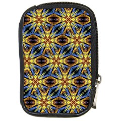Vibrant Medieval Check Compact Camera Cases