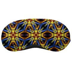 Vibrant Medieval Check Sleeping Masks