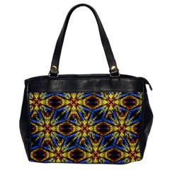 Vibrant Medieval Check Office Handbags