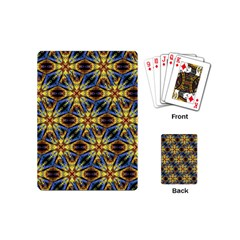 Vibrant Medieval Check Playing Cards (Mini)