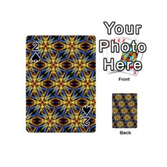 Vibrant Medieval Check Playing Cards 54 (Mini)