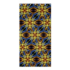 Vibrant Medieval Check Shower Curtain 36  x 72  (Stall)