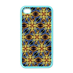 Vibrant Medieval Check Apple iPhone 4 Case (Color)