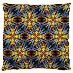 Vibrant Medieval Check Large Cushion Case (One Side)