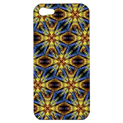 Vibrant Medieval Check Apple iPhone 5 Hardshell Case
