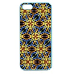 Vibrant Medieval Check Apple Seamless iPhone 5 Case (Color)