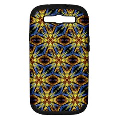 Vibrant Medieval Check Samsung Galaxy S III Hardshell Case (PC+Silicone)
