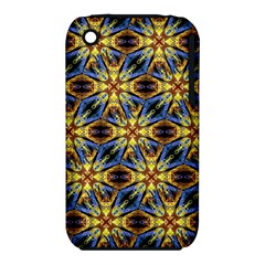 Vibrant Medieval Check Apple iPhone 3G/3GS Hardshell Case (PC+Silicone)