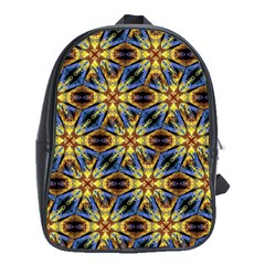 Vibrant Medieval Check School Bags (XL)