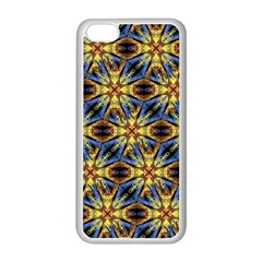 Vibrant Medieval Check Apple iPhone 5C Seamless Case (White)