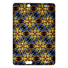 Vibrant Medieval Check Amazon Kindle Fire HD (2013) Hardshell Case