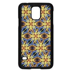 Vibrant Medieval Check Samsung Galaxy S5 Case (Black)