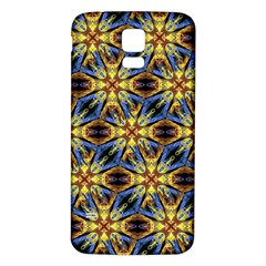 Vibrant Medieval Check Samsung Galaxy S5 Back Case (White)