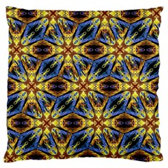 Vibrant Medieval Check Standard Flano Cushion Case (Two Sides)