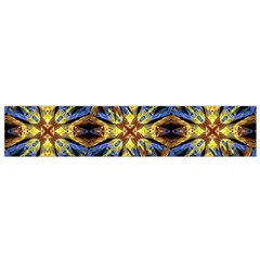 Vibrant Medieval Check Flano Scarf (Small)
