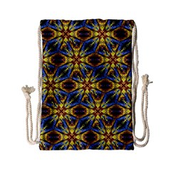 Vibrant Medieval Check Drawstring Bag (Small)