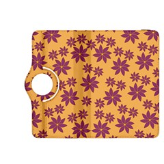 Purple And Yellow Flower Shower Kindle Fire HDX 8.9  Flip 360 Case