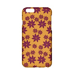Purple And Yellow Flower Shower Apple iPhone 6/6S Hardshell Case