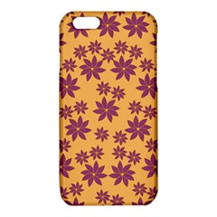Purple And Yellow Flower Shower iPhone 6/6S TPU Case