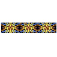 Vibrant Medieval Check Flano Scarf (large)