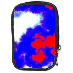 Red White And Blue Sky Compact Camera Cases