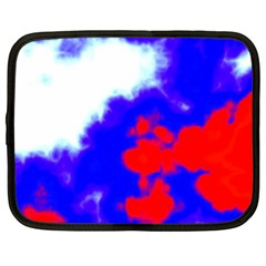 Red White And Blue Sky Netbook Case (XL)