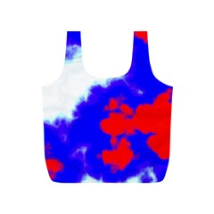 Red White And Blue Sky Full Print Recycle Bags (S)